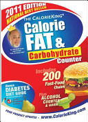 The CalorieKing Calorie  Fat   Carbohydrate Counter