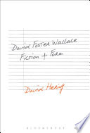David Foster Wallace  Fiction and Form