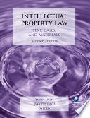 Intellectual Property Law  Text  Cases  and Materials