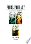 Book Final Fantasy Ultimania Archive