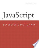 Javascript Developer S Dictionary