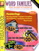 Word Families for Older Students  Book 1