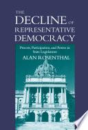 The Decline of Representative Democracy