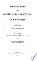 Das hero  sche Zeitalter der nordisch germanischen V  lker und die Wikinger Z  ge
