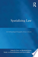 Spatializing Law book