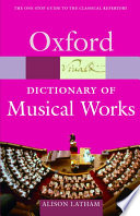 The Oxford Dictionary of Musical Works Wants To Put The Pieces They Encounter In