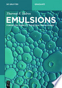 Emulsions book