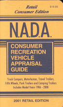 NADA Consumer Edition of the Recreation Vehicle Appraisal Guide 2001