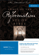 NIV Spirit of the Reformation Study Bible