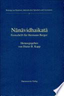 Nānāvidhaikatā