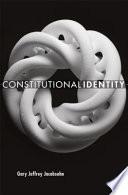 Constitutional Identity