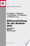 Bildverarbeitung F R Die Medizin 2011