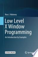 Low Level X Window Programming