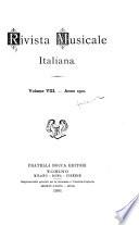Rivista musicale italiana