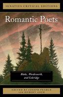 The Romantic Poets Blake, Wordsworth and Coleridge