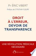 Droit L Erreur Devoir De Transparence