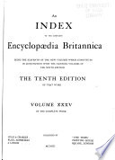 The New Volumes of the Encyclopaedia Britannica