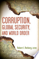 Corruption  Global Security  and World Order