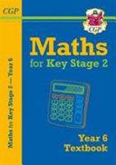 New KS2 Maths Textbook   Year 6