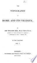 The Topography of Rome and Its Vicinity