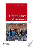 Chroniques pékinoises -