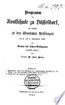 Programm der Realschule zu D  sseldorf