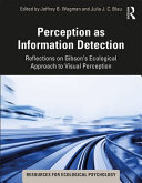Perception As the Detection of Information