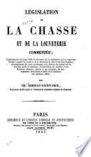 illustration Législation de la chasse et de la louveterie commentée