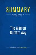 Summary: The Warren Buffett Way Book