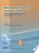 Micro Total Analysis Systems 2000