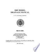 Model Drainage Manual  3rd Edition