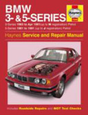 Bmw 3 5 Series Service And Repair Manual