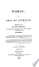 Woman: or, Ida of Athens