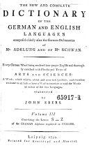 download ebook vollständiges wörterbuch der englischen sprache für die deutschen, the new and complete dictionary of the german and english languages pdf epub