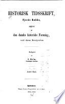 Historisk tidsskrift