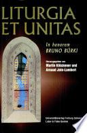 Etudes liturgiques et oecum  niques sur l Eucharistie et la vie liturgique en Suisse