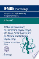 1st Global Conference on Biomedical Engineering   9th Asian Pacific Conference on Medical and Biological Engineering