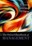 The Oxford Handbook of Management