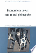 Economic Analysis and Moral Philosophy