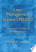 Lean Management System LMS 2012