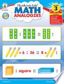 Thinking Kids     Math Analogies  Grade 3