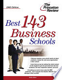 Best 143 Business Schools On The Market Because It Is