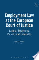 Employment Law at the European Court of Justice