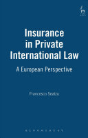 Insurance in Private International Law