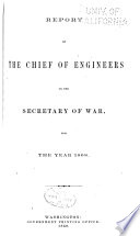 Report of the Chief of Engineers U S  Army