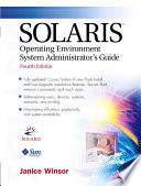 Solaris Operating Environment System Administrator s Guide