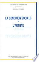 La Condition Sociale De L Artiste Xvie Xxe Si Cles