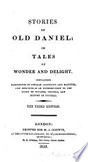 Stories Of Old Daniel Or Tales Of Wonder And Delight