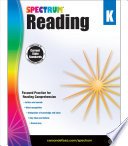 Spectrum Reading Workbook  Grade K