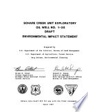 Sohare Creek Unit Exploratory Oil Well No 1 35  Proposed Oil and Gas Drilling Near Jackson  Amoco Production Company